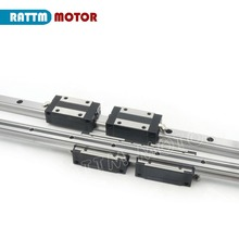 цена на EU Delivery! Linear guide rail TRH15 300mm/400mm/600mm with 4 pcs of linear block carriage TRH15B CNC parts