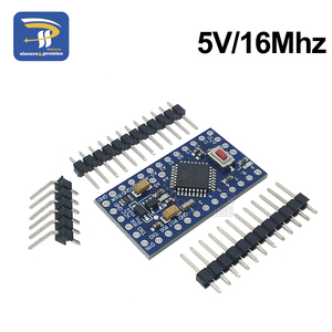 Image 3 - 10 ピース/ロットプロミニ 328 3.3V 8Mhz ATMEGA328 電子ビルディングブロック ATMEGA328P 5 V/16 メートル arduino の互換 Nano