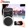 Solar Bluetooth Handsfree Hands Free Bluetooth Car Kit two-link Solar Charger Multipoint Speakerphone With Car Charger Free Post