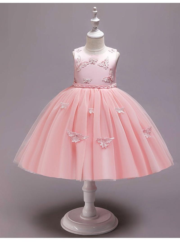 2019 vestidos niñas chicas princesa para fiesta cumpleaños boda playa de moda