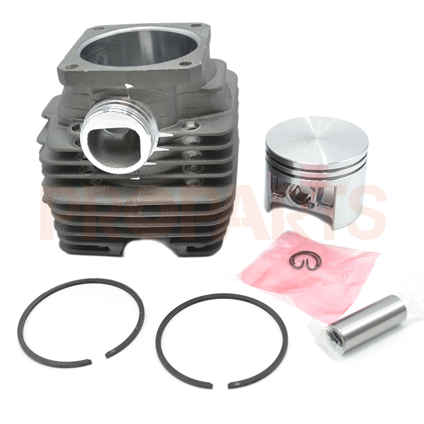52mm Cylinder Piston Kit Fit For Stihl MS381 Chainsaw Replacement 11190201204 38mm engine housing cylinder piston crankcase kit fit husqvarna 137 142 chaisnaw