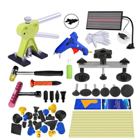 GLCC инструмент для рихтовки комплект для автомобиля Paintless Дент инструмент для ремонта авто Дент Съемник присоске ручные инструменты набор с