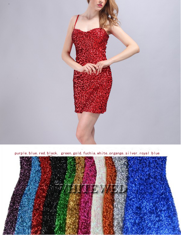 d89413622f Sparkly Glitter Sequin embellished knitted slim scoop tank top for ...