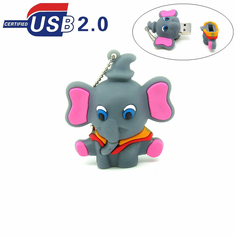 new-Cute-Lovely-Dumbo-usb-font-b-flash-b