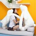 90 см большой чучела плюшевые игрушки кролика Корея длинные руки кролик мягкая куклы супер симпатичные & soft детские успокоить кукла Рождественский подарок для малыш
