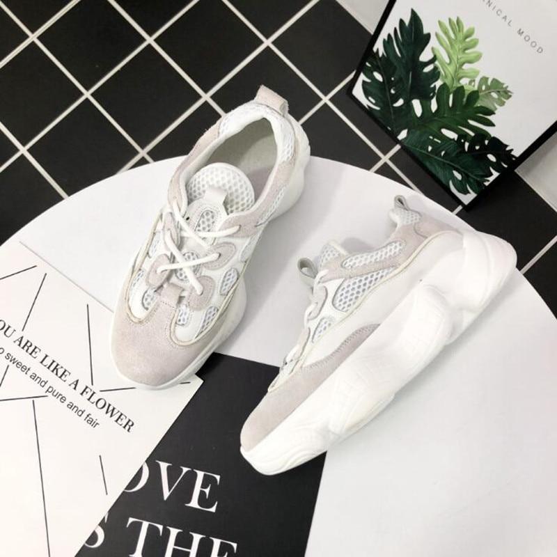 blanc Femmes Plate Sauvage 2018 Classique Blanc Cuir forme Rétro En Beige Printemps Modèles Nouveau Célibataires Été Des Chaussures Petit Occasionnels Chauds nxxvYRB