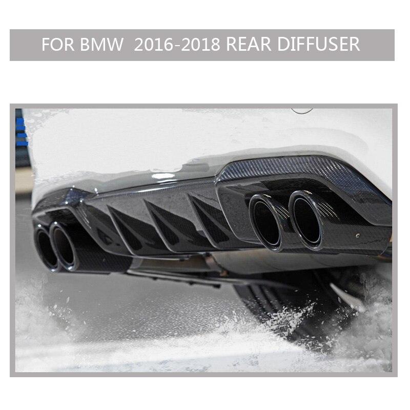 F87 Carbon m2 Stoßstange Für bmw m2 2016-2018 2PCS Auto Aufkleber Front Stoßstange Splitter Flossen Körper Spoiler canards Fall