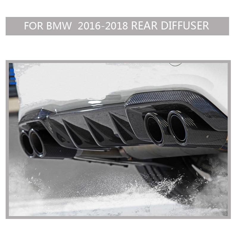 F87 m2 carbono pára-choques para bmw m2 2016-2018 2 pçs adesivo do carro frente amortecedor divisor aletas corpo spoiler canards caso