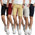 2017 de Moda de Verano Para Hombre Pantalones Cortos Bermuda masculina Ocasional Ocio Playa Pantalones Cortos Masculino (Tamaño de Asia)