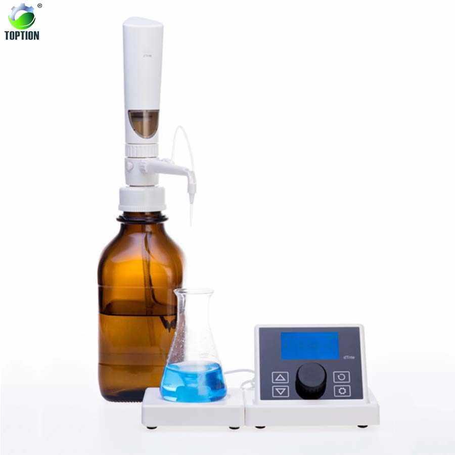 TOPTION dTrite Digital Burette Electronic Titrator Chemistry