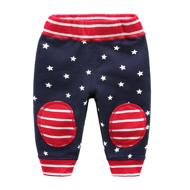 Calças menino calças de algodão do bebê primavera e no outono atacado