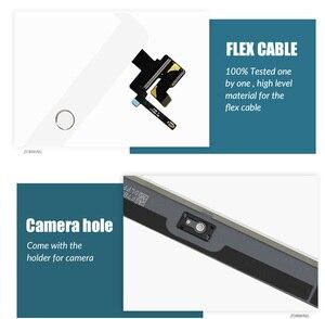Image 3 - AAA تعمل باللمس لباد مصغرة 3 2 Mini3 Mini2 اللمس محول الأرقام زجاج الشاشة الرئيسية زر مع IC Conector ل باد البسيطة 3 2