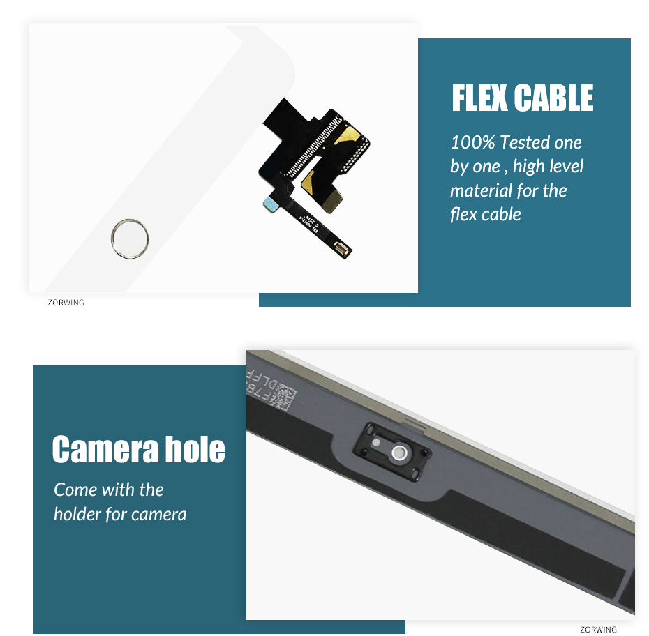 Image 3 - Touch Screen For iPad Mini 3 Mini3 A1599 A1600 A1601 7.9 Touch Digitizer Sensor with IC Connector+Home Button-in Mobile Phone LCD Screens from Cellphones & Telecommunications