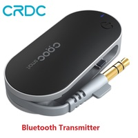 CRDC Portable Wireless Stereo Audio Transmitter Multi Point Bluetooth Music Adapter With A2DP AptX For Tablet