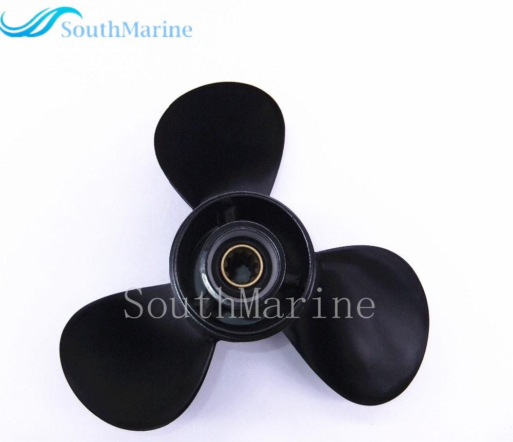 9.9x13 Boat Motor propeller for Tohatsu / Nissan 25hp 30hp Outboard Engine 9.9 x 13 цена