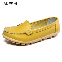 2017 Summer New Fashion Women Flats Moccasins Comfortable Woman Shoes Cut Outs Leisure Flat Woman Casual