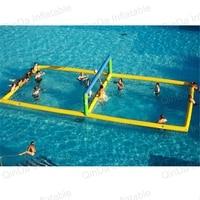 Водный парк оборудования надувной пляжный Волейбол суд забавные водного спорта надувной Волейбол пляжные игры