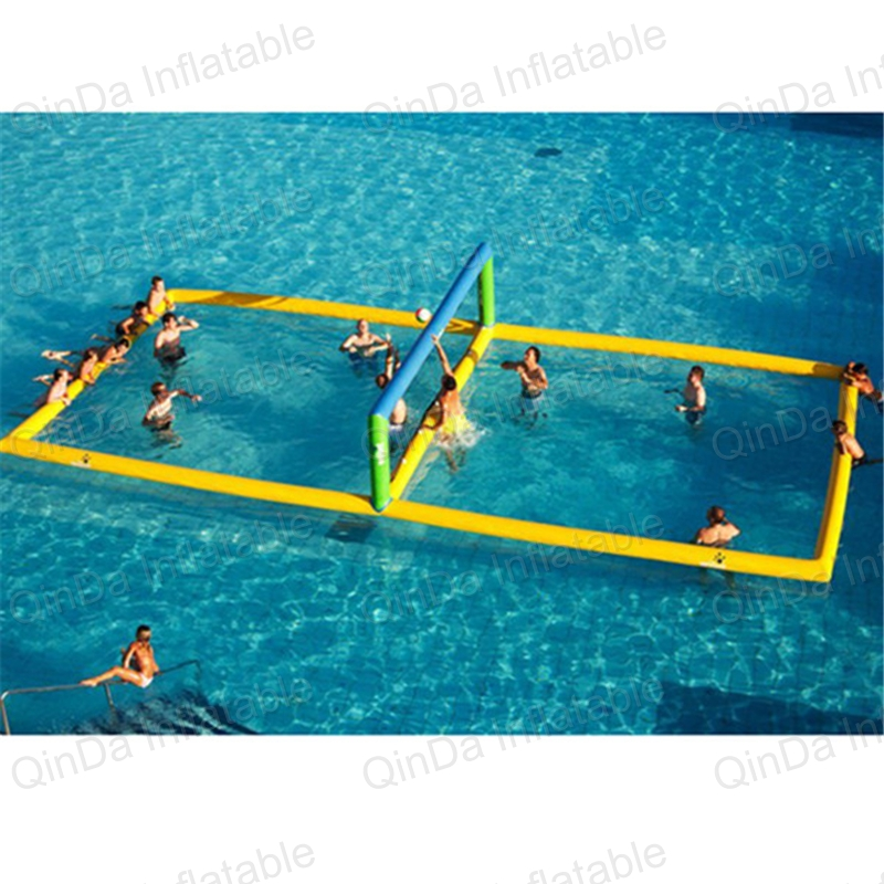 Floating Water Park Equipment Inflatable Beach Volleyball Court Funny Water Sport Inflatable Volleyball Beach Game inflatable water game inflatable water trampoline for kids game