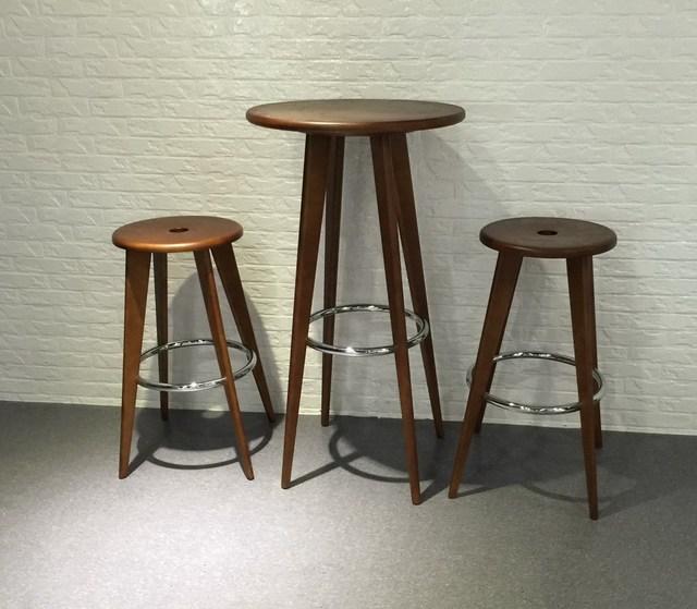 Design moderno Tavolo Da Bar In Legno Massello Casa Bar Mobili Set ...