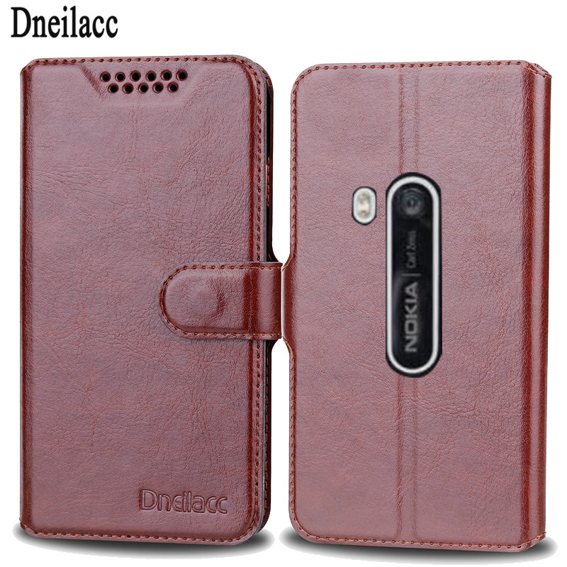 For Nokia Lumia 920 Case Cover Luxury Leather Flip Phone Bags For Nokia Lumia 920 Upscale Wallet Cover Mobile Phone Case