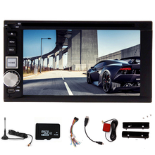 FM Car DVD Player Autoradio Electronics System In Dash Music PC Stereo GPS Digital TV EQ Radio MP4 SD Accessory USB
