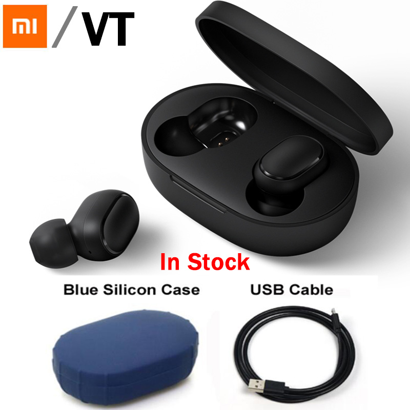 Xiaomi Redmi Airdots TWS Bluetooth Earphone Youth Version Stereo MI Mini Wireless Bluetooth 5.0 Headset With Mic Earbuds(China)