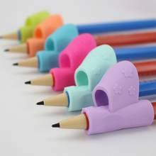 3 шт/компл детский карандаш держатель письменный корректор дети