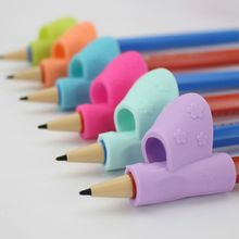 3Pcs/set Children Pencil Holder Writing Corrector Kids Silicone Pen Writing Aid Grip Posture Correction Device Tool For Students
