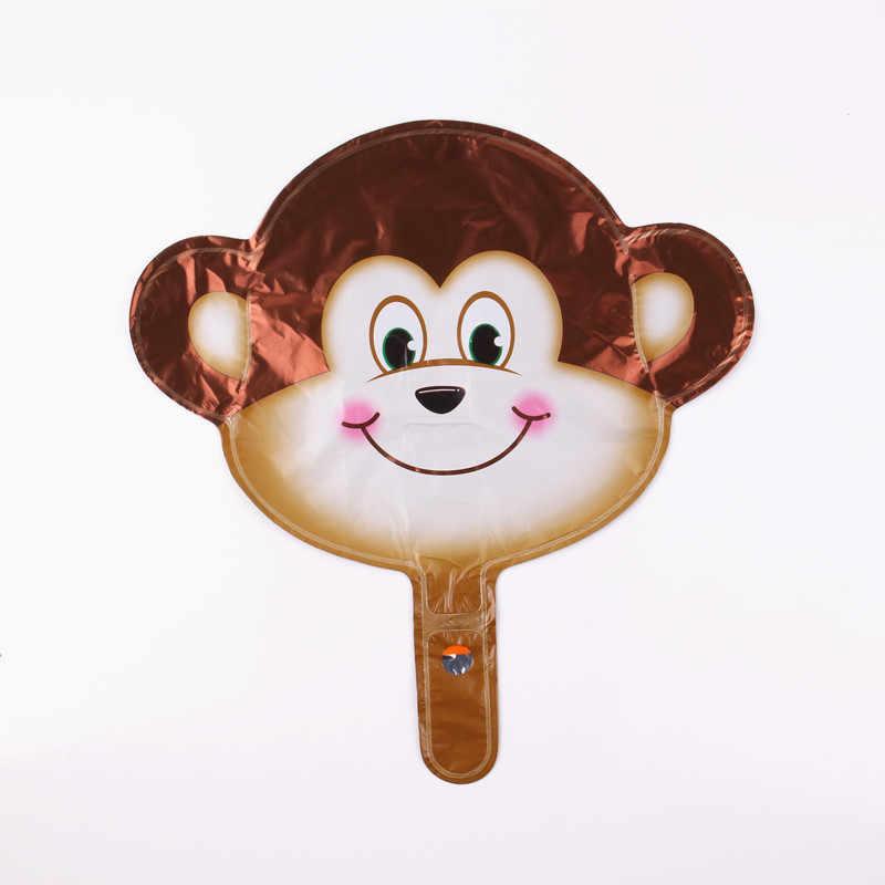 GOGO PAITY Frete grátis mini macaco cabeça de alumínio balões balões de festa decorado brinquedos das crianças por atacado