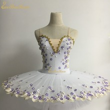 Adulto ballet dança profissional ballet tutu cisne lago flor vestido menina bailarina ballet palco desempenho traje para crianças