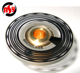 BN030C648 Encoder glass disk  (Used in OSA17 encoder) MITSUBISHIManufacturer 030 brown