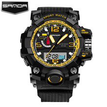 Nuevo G Reloj Digital Del Estilo S Choque Hombres Militar Del Ejército Reloj de pulsera Resistente Al Agua Fecha Calendario LED Relojes Deportivos Relogio masculino