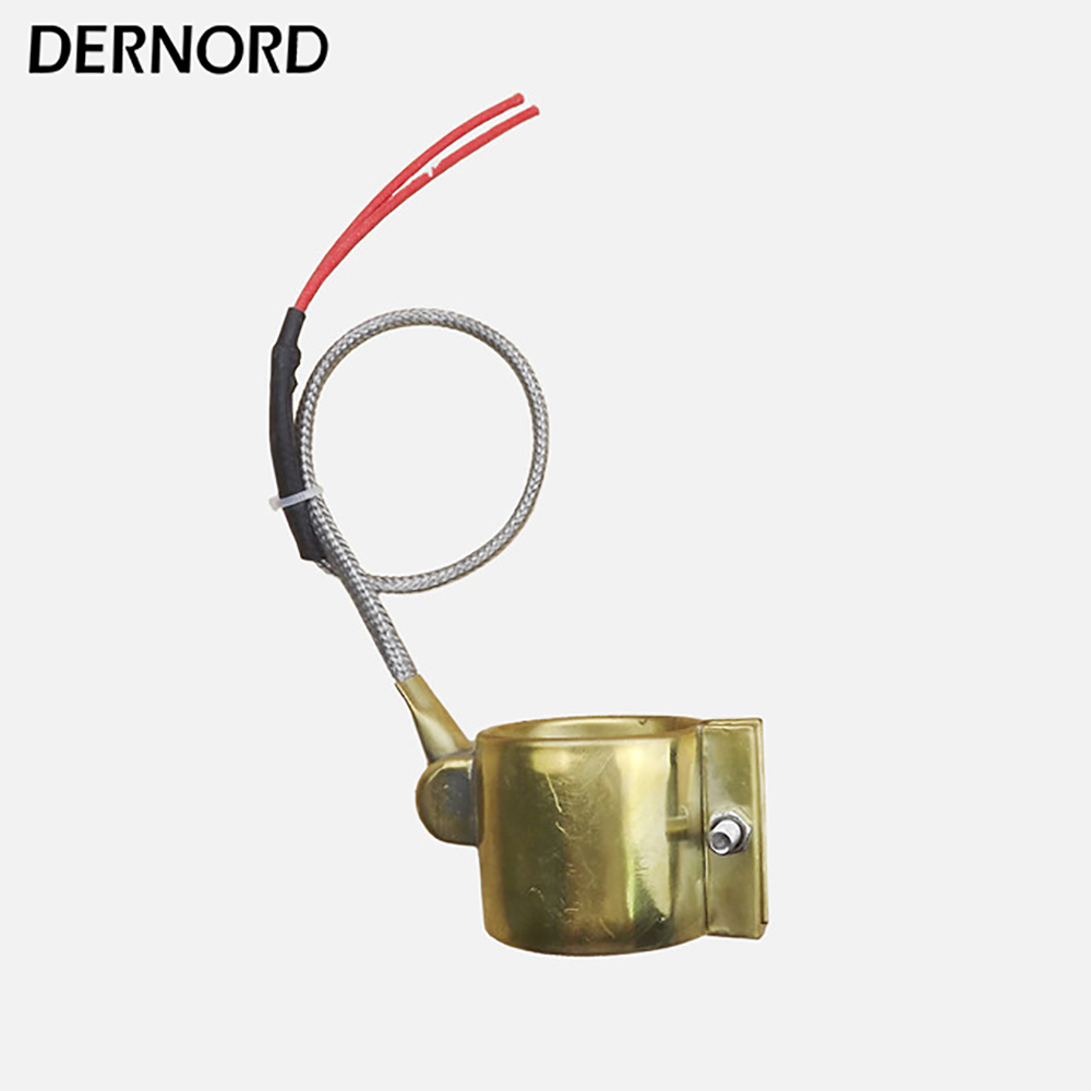 DERNORD Customized 40x40mm 220v 220w Electric Brass Band Heater free shipping 3 pc ac 220v 150w 150 watt stainless steel electric band heater 50mm x 30mm customized
