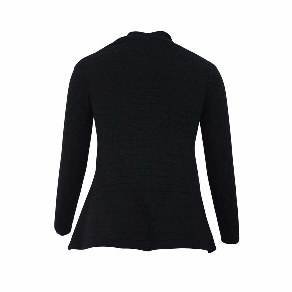 Black-Irregular-Hemline-Cowl-Neck-Sweater-LC27631-2-4