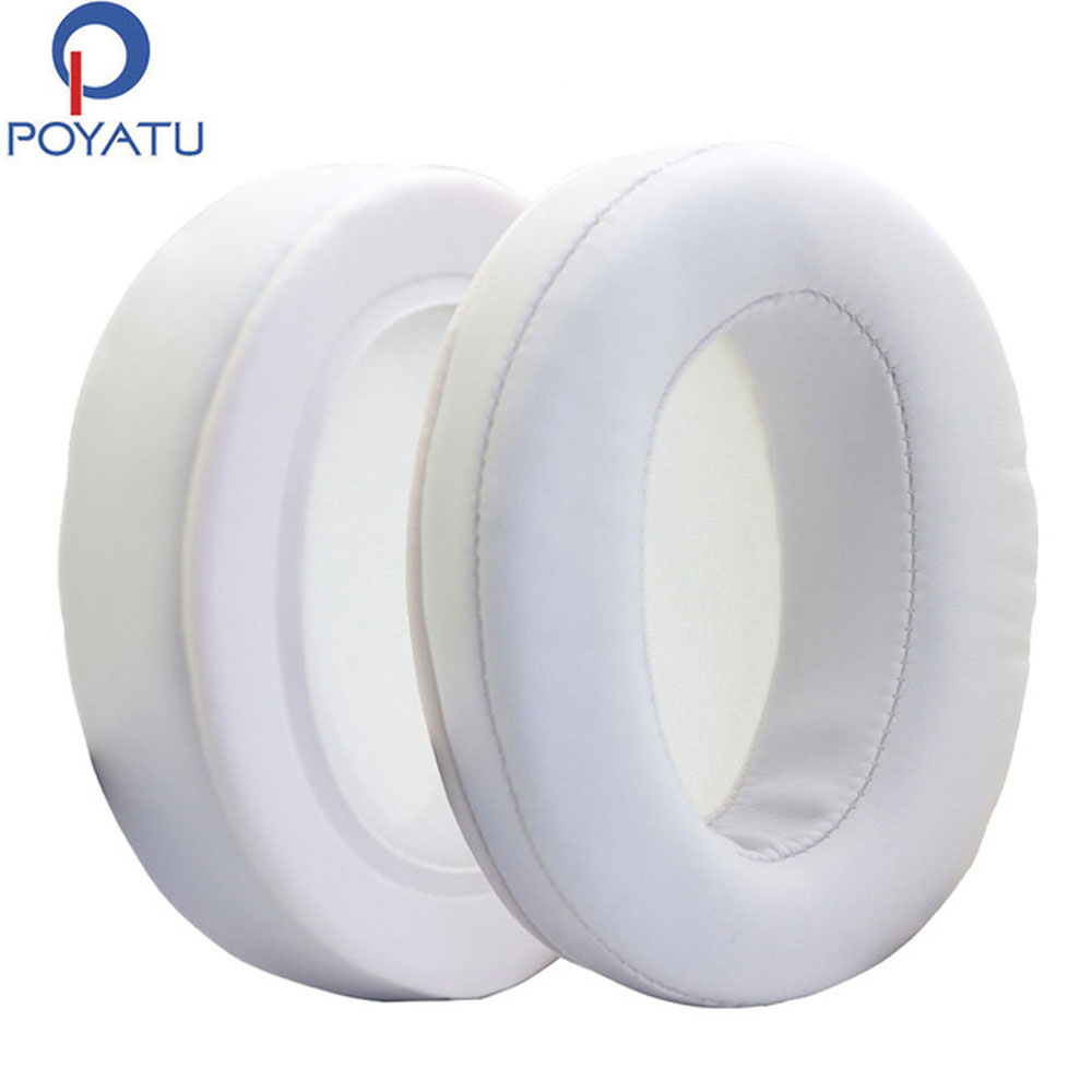 Considerate Poyatu Cushion For Jvc Kenwood Ha-sz1000-e Victer Stereo Headphones Ear Pads For Headphone Ear Pads White Replacement Cover As Effectively As A Fairy Does Portable Audio & Video