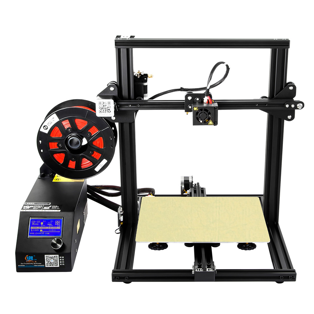Creality CR-10 mini grand impression taille DIY de bureau 3D imprimante 300*220*300mm taille d'impression avec chauffée lit
