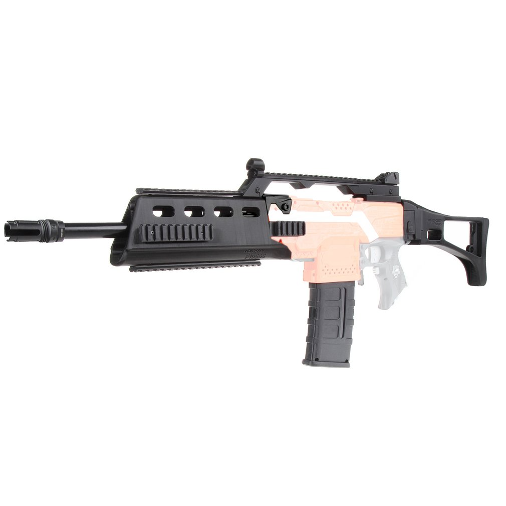 US $90 03 |WORKER MOD F10555 G36 Rifle Imitation Kit 3D Printing High  Strength Plastic Combo Stryfe Modify Toy For Nerf Parts Accessories-in Toy  Guns