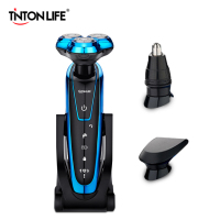 TINTON LIFE Washable Rechargeable Electric Shaver Electric Shaving Men Beard Shaving Machine Razor Rechargeable