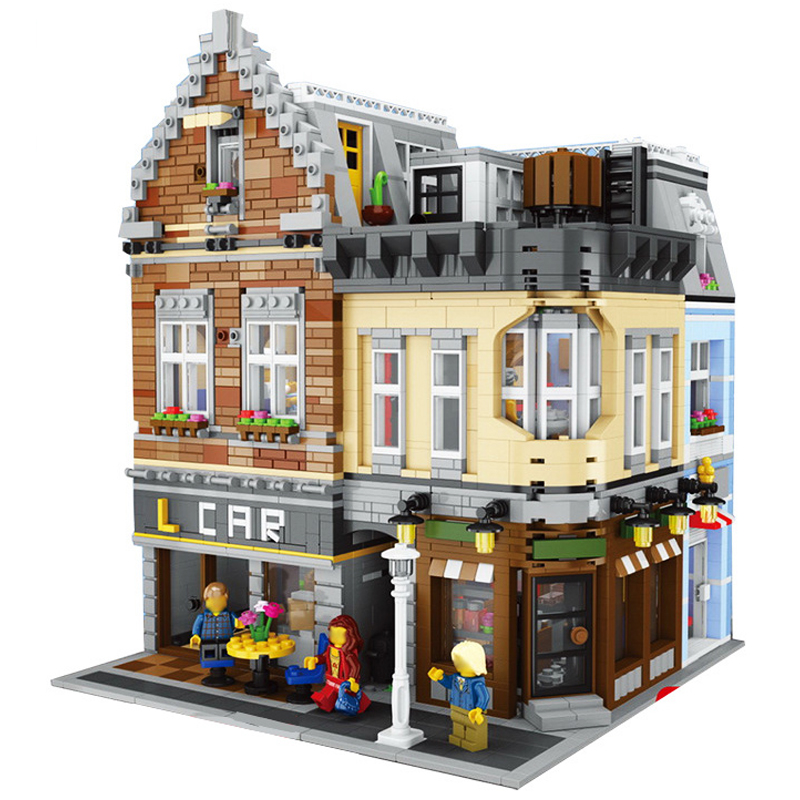 Lepin Street View 15034 4210PCS MOC Series The City