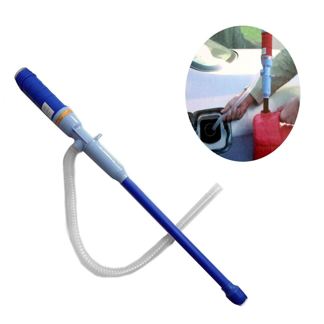 Dewtreetali nueva llegada manual portable sifón transferencia bomba eléctrica lechón manguera de gas oil agua accesorios del coche