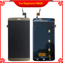 For Elephone P8000 LCD Display Touch Screen 100%Original Digitizer Assembly Replacement Repair Accessories For Cell Phone