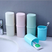 Portable Toothbrush Box Bath Product Protect Case Holder Camping Cover Travel Hiking Tube Outdoor