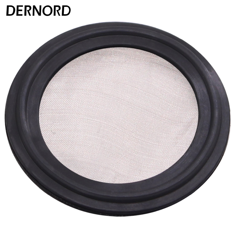 DERNORD 1.5''(38mm) 2''(51mm) Viton Sanitary Gasket, Seal Strip, Stainless Steel 304, (100 Micron) Mesh 150 алмазный брусок extra fine 1200 mesh 9 micron dmt w6e