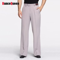Newest Latin Dance Pants For Males Classical Stripe 5 Color Cotton Long Pants Comfort Men Ballroom