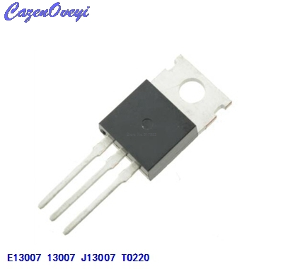 10pcs/lot FJP13007 TO220 MJE13007 J13007 J13007-2 E13007 In Stock