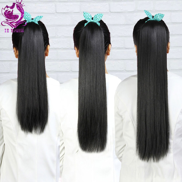 Ponytail human hair ponytail extensions remy hair straight virgin ponytail human hair ponytail extensions remy hair straight virgin brazilian ponytails hair comb lace tie feature pmusecretfo Image collections