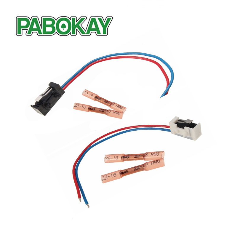 2 Metal Slice Door Lock Micro Switch 1 Pair Left and Right for VW Passat B5