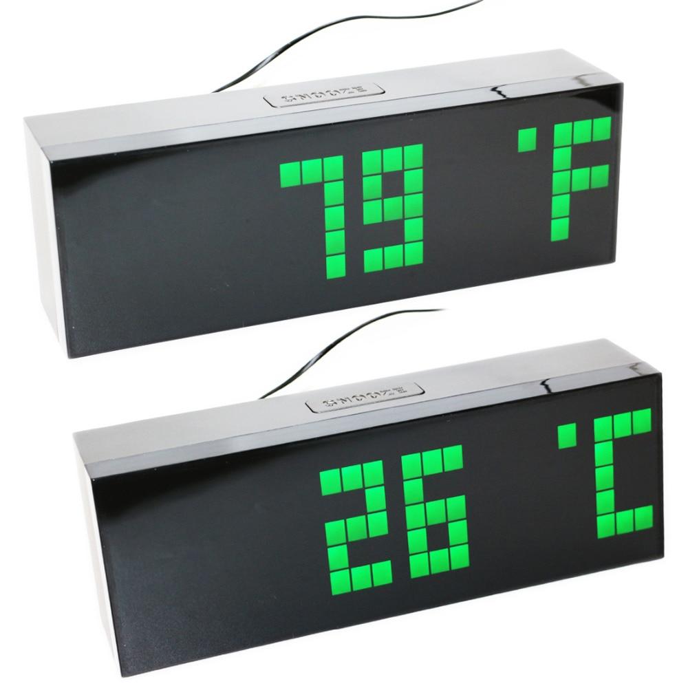 Timer Wall Led Digital Alarm Clock Countdown Time Timeer with - Dekor në shtëpi - Foto 4