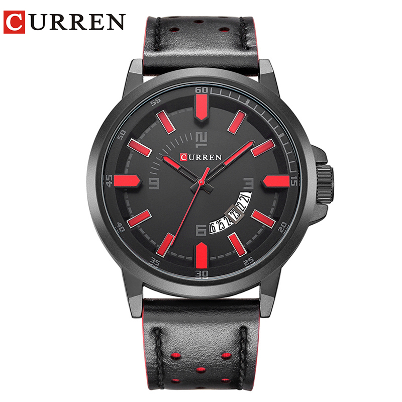 Curren 2017 men watches relogio masculino luxury military wristwatches fashion casual quartzwatch water Resistant calendar 8228 curren relogio watches 8103