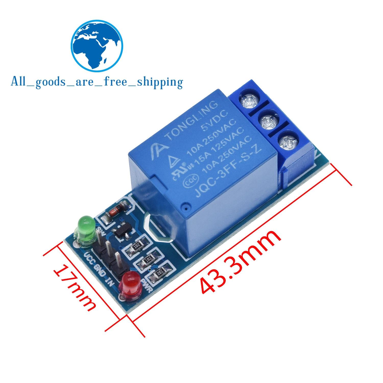 1 stücke 5 V 4 Kanal Relais Schild Modul für Arduino Elektronische 5 V 4